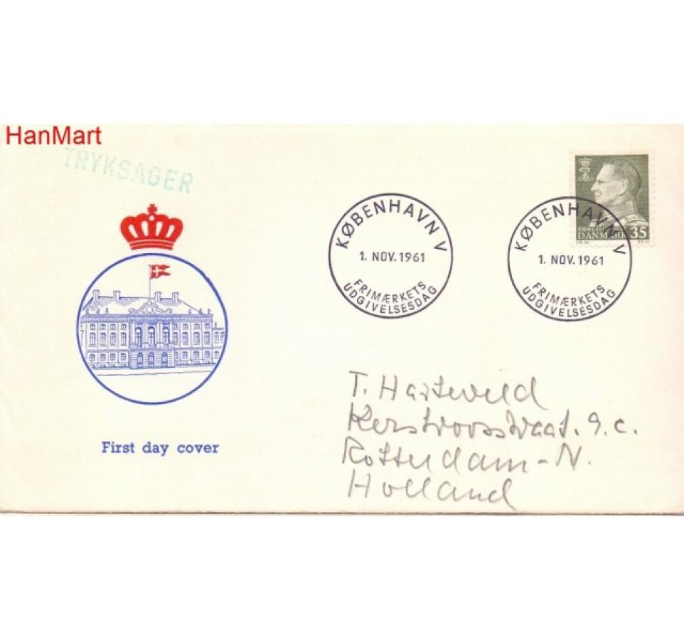Dania 1961 FDC