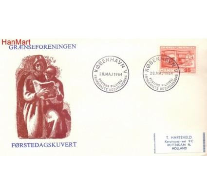 Znaczek Dania 1964 Mi 419 FDC