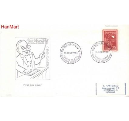 Znaczek Dania 1964 FDC