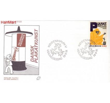 Znaczek Dania 1991 FDC