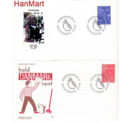 Znaczek Dania 1991 Mi 1010-1011 FDC