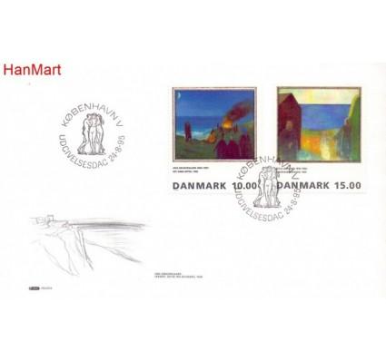 Znaczek Dania 1995 Mi 1108-1109 FDC