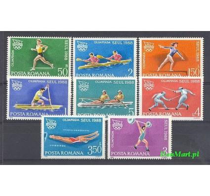 Znaczek Rumunia 1988 Mi 4475-4482 Czyste **