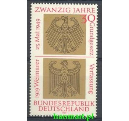 Znaczek Niemcy 1969 Mi 585 Czyste **