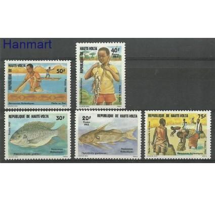 Znaczek Burkina Faso 1989 Mi 904-908 Czyste **