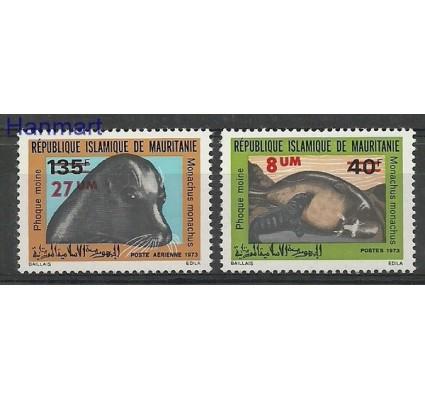 Znaczek Mauretania 1973 Mi 465-466 Czyste **