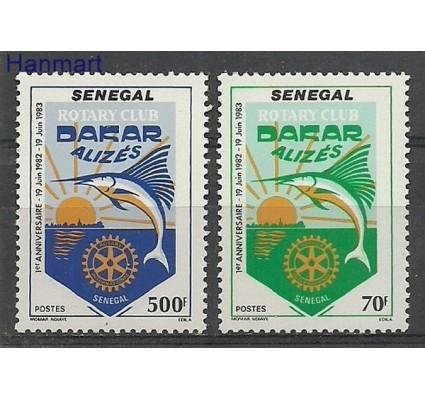 Znaczek Senegal 1983 Mi 803-804 Czyste **
