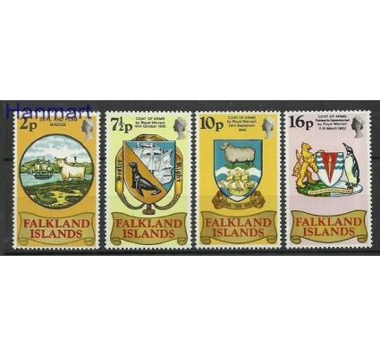 Znaczek Falklandy 1975 Mi 236-239 Czyste **