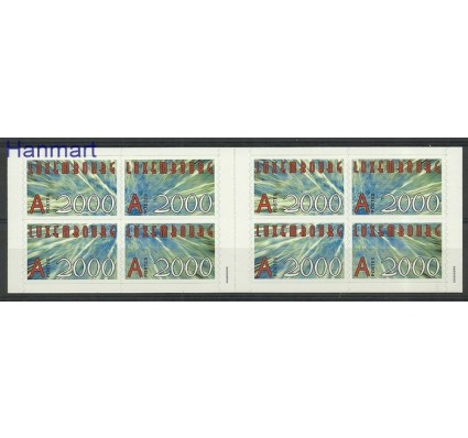 Znaczek Luksemburg 2000 Mi mh 1490-1493 Czyste **