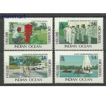 Znaczek Brytyjskie Terytorium Oceanu Indyjskiego 1991 Mi 111-114 Czyste **