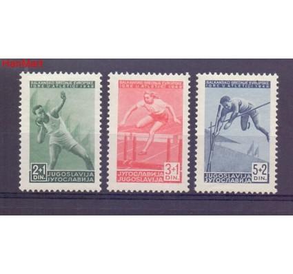 Znaczek Jugosławia 1948 Mi 557-559 Czyste **