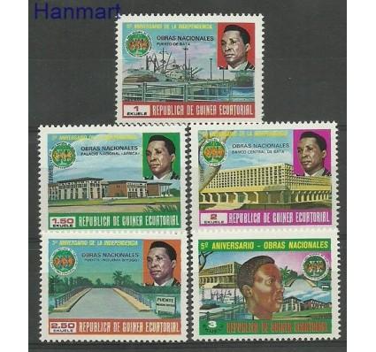 Znaczek Gwinea Równikowa 1979 Mi 1608-1612 Czyste **