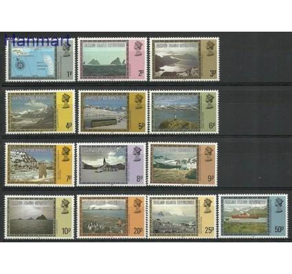 Znaczek Dependencja Falklandów 1980 Mi 78-90II Czyste **