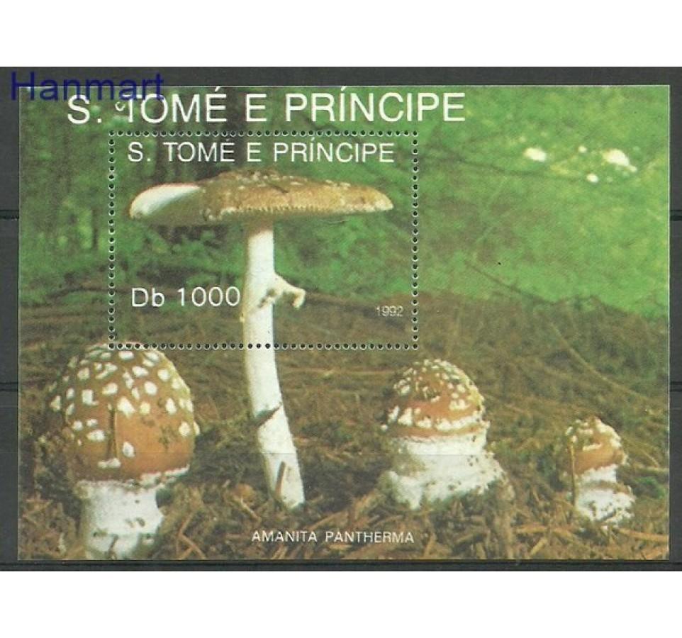 Wyspy Św. Tomasza i Książęca 1992 Mi bl 283 Czyste **