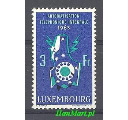 Znaczek Luksemburg 1963 Mi 683 Czyste **