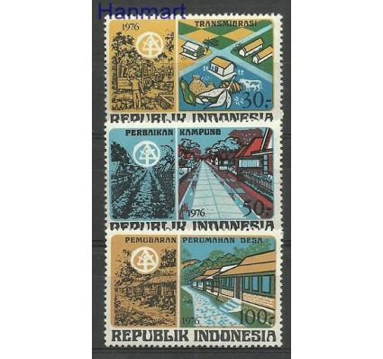 Znaczek Indonezja 1976 Mi 833-835 Czyste **