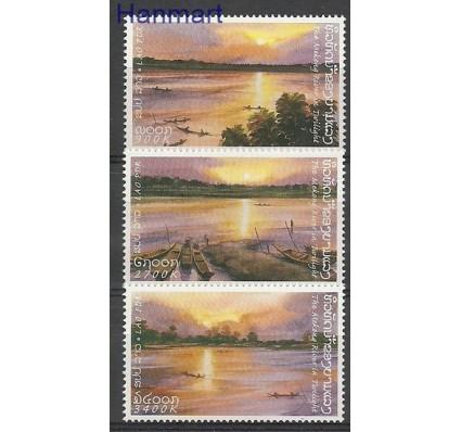 Znaczek Laos 2001 Mi 1774-1776 Czyste **