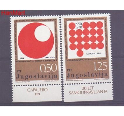 Znaczek Jugosławia 1971 Mi 1418-1419 Czyste **