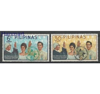 Znaczek Filipiny 1966 Mi 814-815 Czyste **