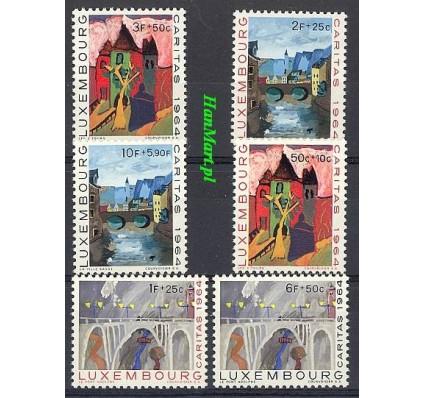 Znaczek Luksemburg 1964 Mi 703-708 Czyste **