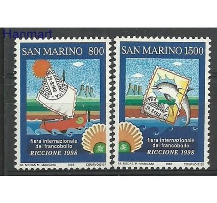 Znaczek San Marino 1998 Mi 1784-1785 Czyste **