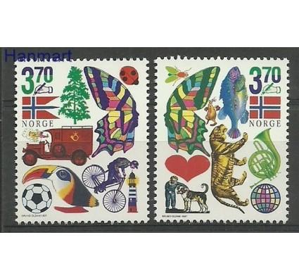 Znaczek Norwegia 1997 Mi 1263-1264 Czyste **