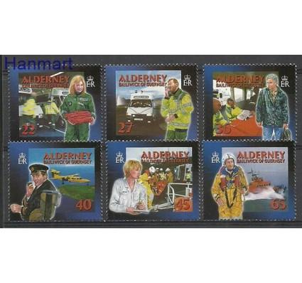 Znaczek Alderney 2002 Mi 199-204A Czyste **