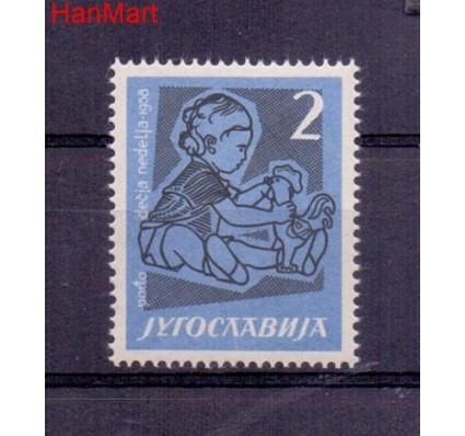 Znaczek Jugosławia 1958 Mi por 17 Czyste **