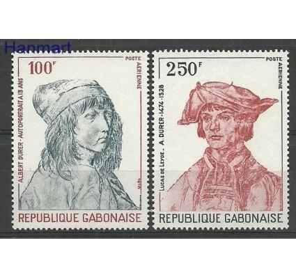 Znaczek Gabon 1978 Mi 679-680 Czyste **