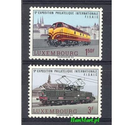 Znaczek Luksemburg 1966 Mi 735-736 Czyste **