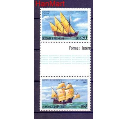 Znaczek Wyspy Świętego Tomasza i Książęca  Mi 375 Czyste **