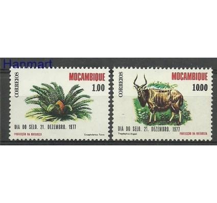 Znaczek Mozambik 1977 Mi 640-641 Czyste **