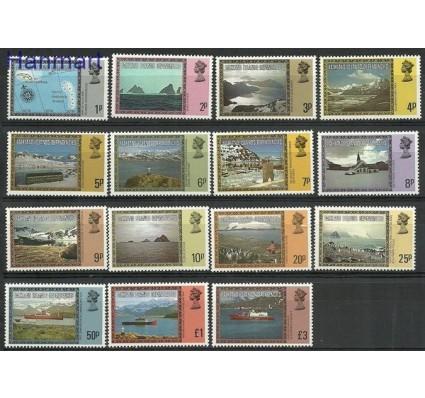 Znaczek Dependencja Falklandów 1980 Mi 78-90I Czyste **
