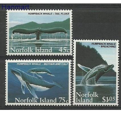 Znaczek Norfolk 1995 Mi 581-583 Czyste **