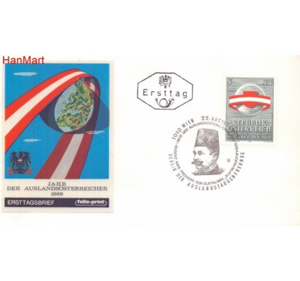 Znaczek Austria 1969 Mi 1306 FDC