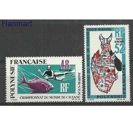 Znaczek Polinezja Francuska 1969 Mi 94-95 Czyste **