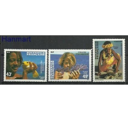 Znaczek Polinezja Francuska 1986 Mi 445-447 Czyste **