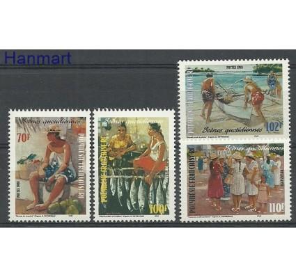 Znaczek Polinezja Francuska 1998 Mi 774-777 Czyste **