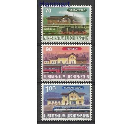 Znaczek Liechtenstein 1997 Mi 1155-1157 Czyste **