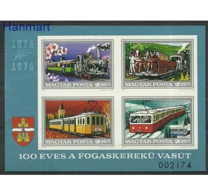 Znaczek Węgry 1974 Mi bl107B Czyste **