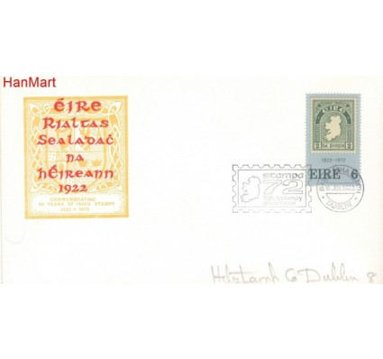 Znaczek Irlandia 1972 FDC