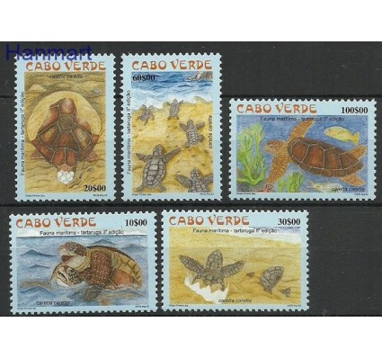 Znaczek Wyspy Zielonego Przylądka 2002 Mi 809-813 Czyste **