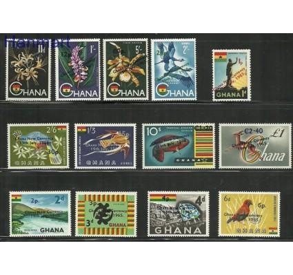 Znaczek Ghana 1965 Mi 224-236 Czyste **