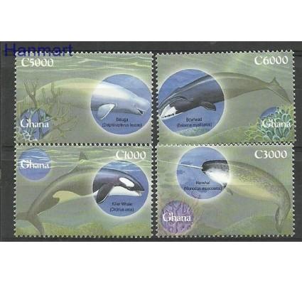 Znaczek Ghana 2001 Mi 3316-3319 Czyste **