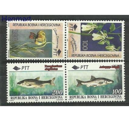 Znaczek Bośnia i Hercegowina 1995 Mi 28-31 Czyste **
