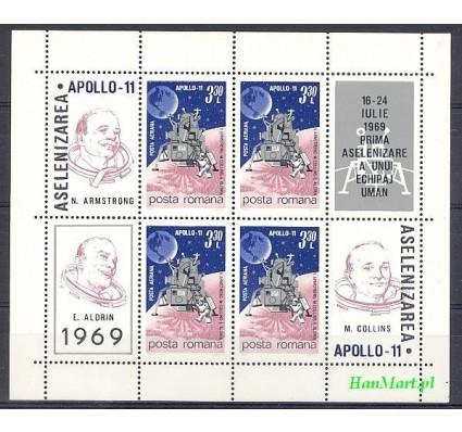 Rumunia 1969 Mi bl 72 Czyste **