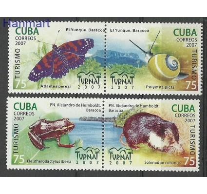 Znaczek Kuba 2007 Mi 4982-4985 Czyste **