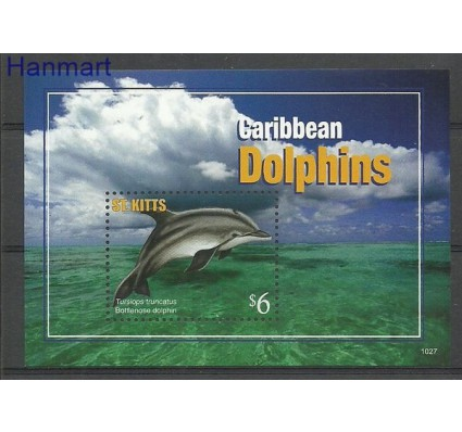 Znaczek Saint Kitts 2011 Mi bl 105 Czyste **