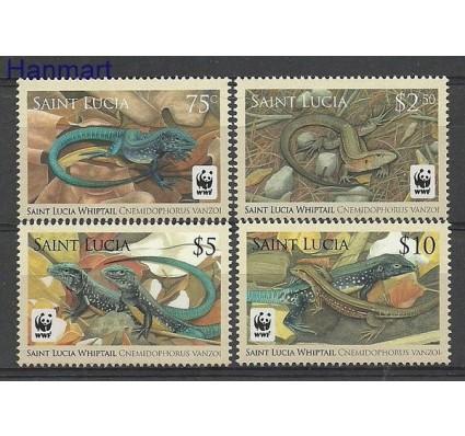 Znaczek Saint Lucia 2008 Mi 1275-1278 Czyste **