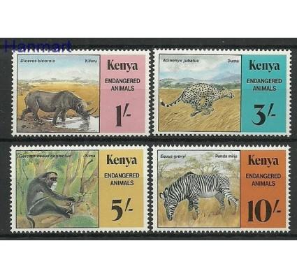 Kenia 1985 Mi 348-351 Czyste **
